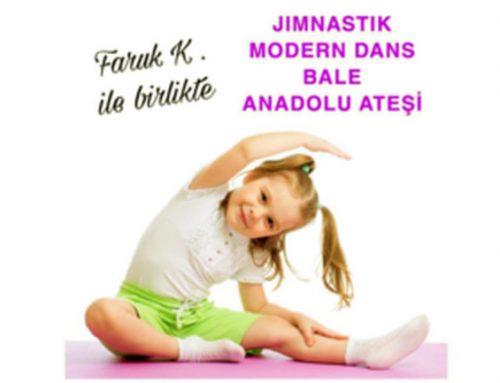 Modern Dans Jimnastik Ve Bale